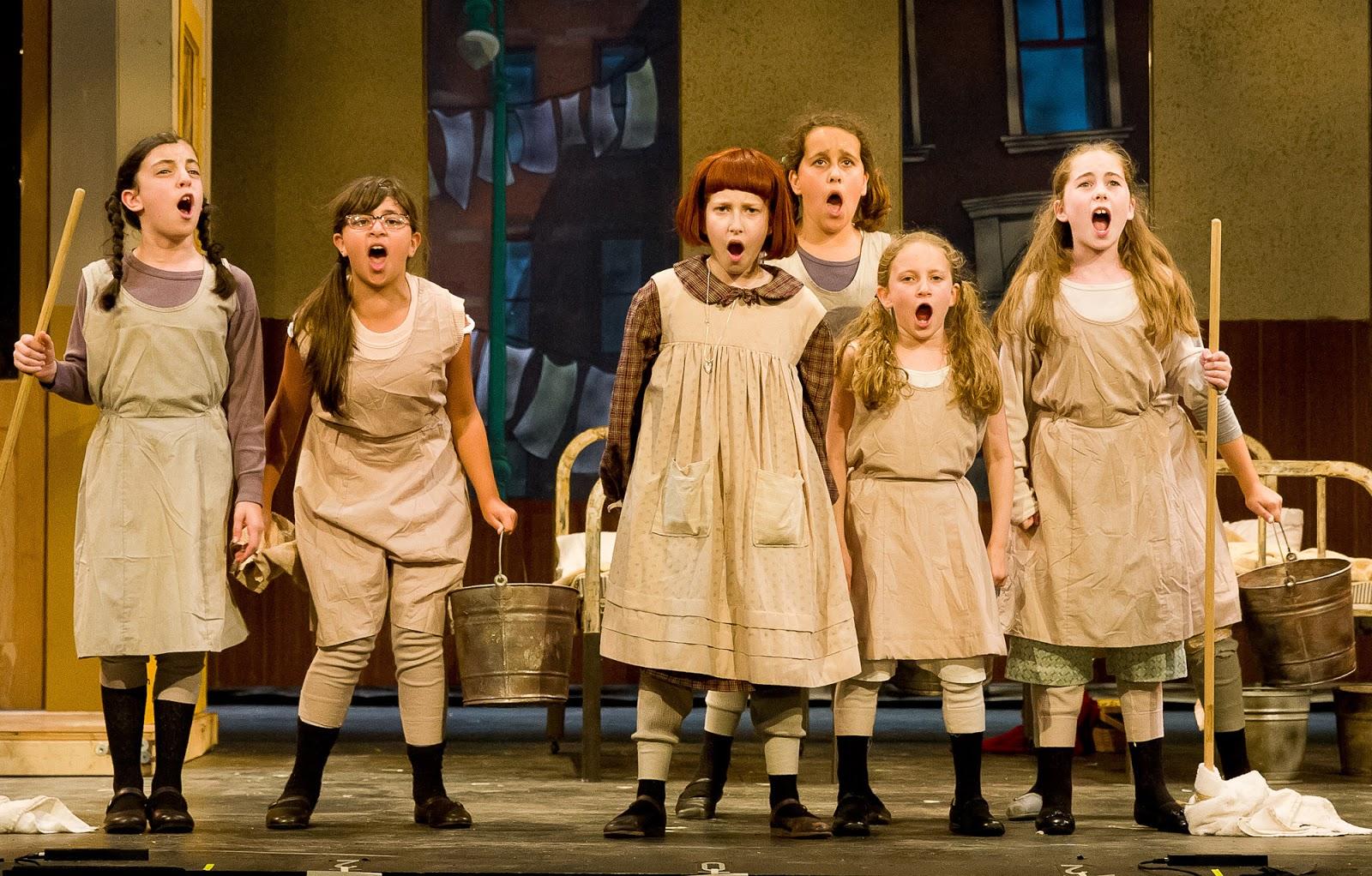 Annie Musical Orphans | www.pixshark.com - 470.3KB